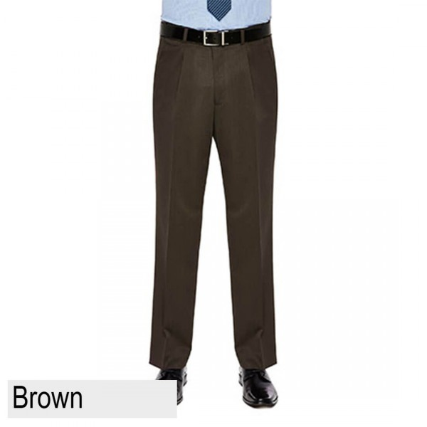 City Club Diplomat PWLG Front brown Pant