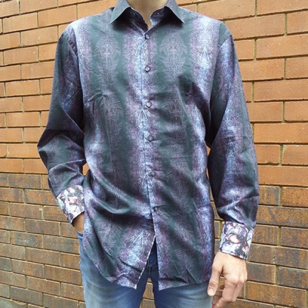 David Smith Silcott Fossil Long Sleeve Shirt