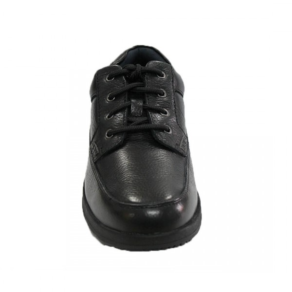 Florsheim Dougal Lace-Up Shoe Black Front