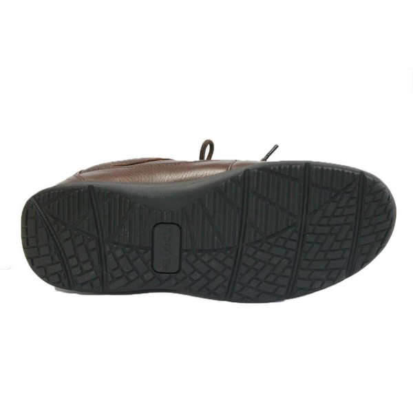 Florsheim Dougal Lace-Up Shoe Brown Bottom