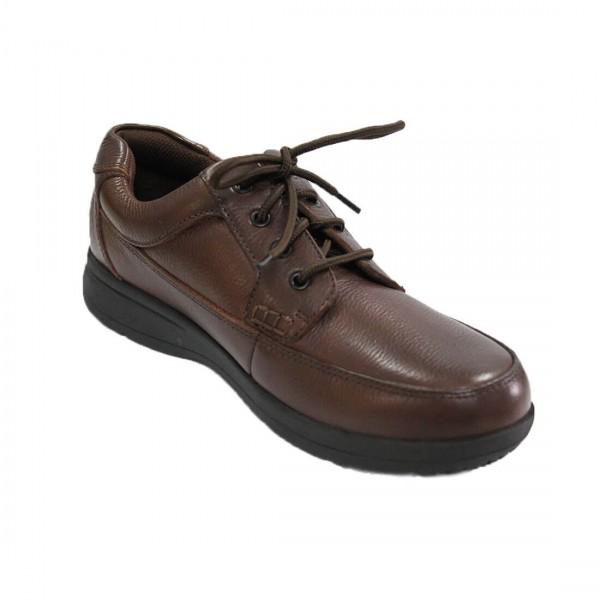 Florsheim Dougal Lace-Up Shoe Brown Side