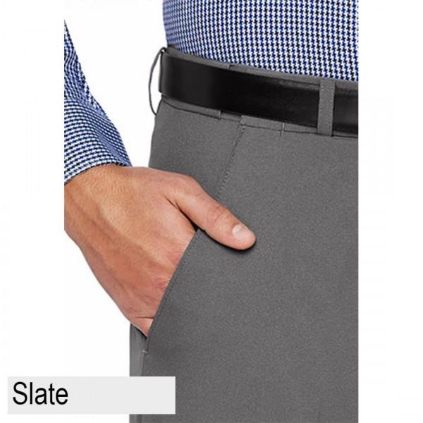City Club Fraser Coast Trouser Slate Front Pocket