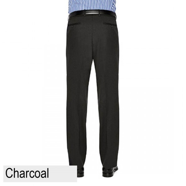 City Club Fraser Ellis Pant Charcoal Back