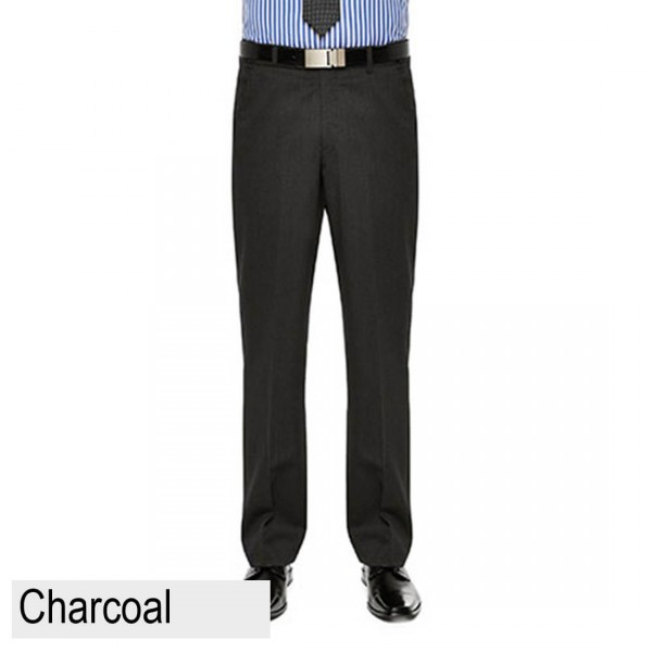 City Club Fraser Ellis Pant Charcoal Front