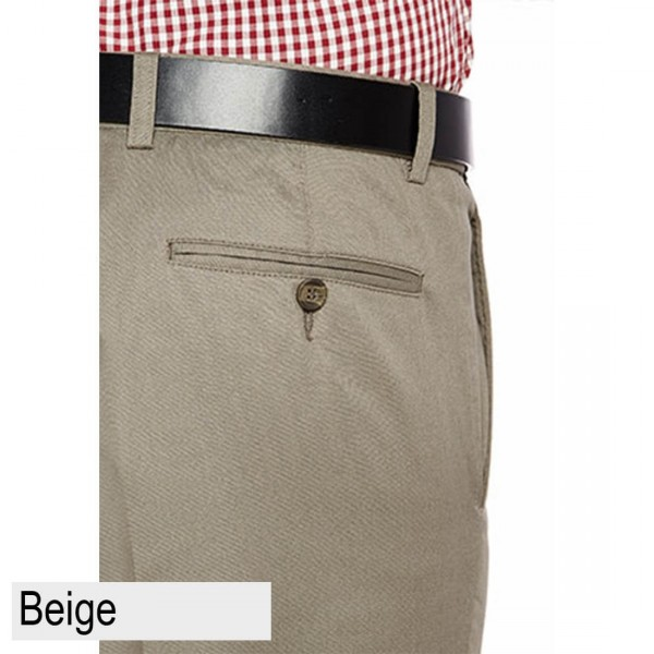 City Club Fremantle Flex Short Beige Back Pocket