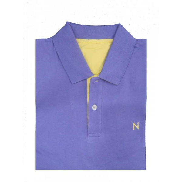 Nickel Pima Polo Shirt Purple