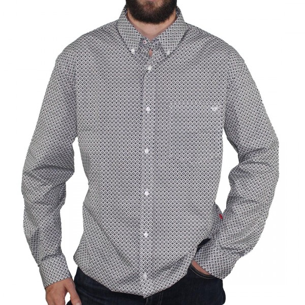 R.F. Scott L/S Gunpowder Dress Shirt