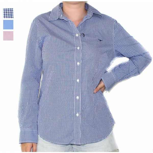 RM Williams Nicole Long Sleeve Ladies Shirt- Hero