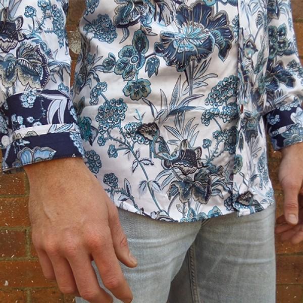 John Lennon By English Laundry White Fellani Shirt