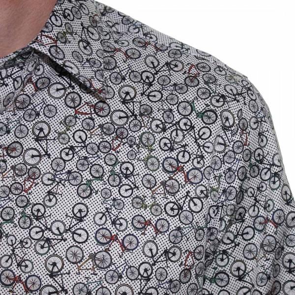John Lennon By English Laundry Bicycles  Shirt