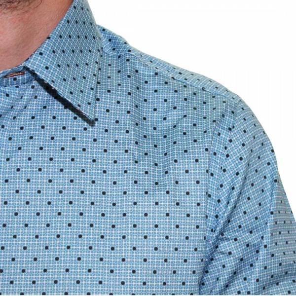 John Lennon By English Laundry Stripe/Dot Shirt