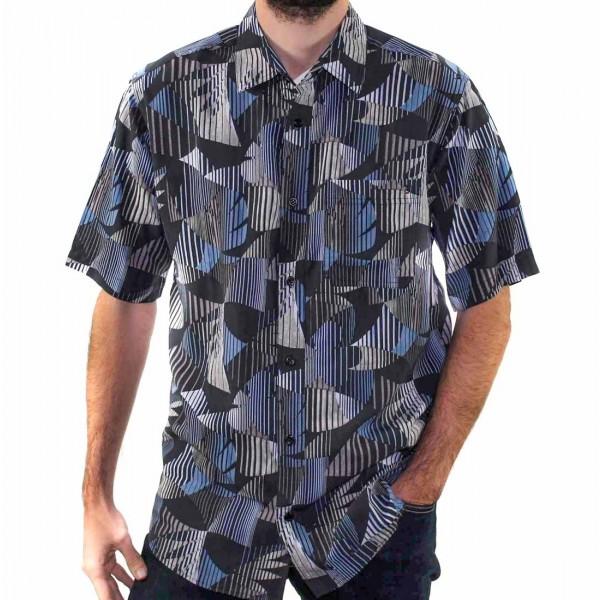 Breakaway Short Sleeve Kenneth Bamboo Shirt Front