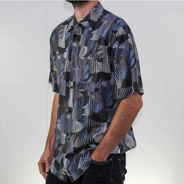 Breakaway Short Sleeve Kenneth Bamboo Shirt Side