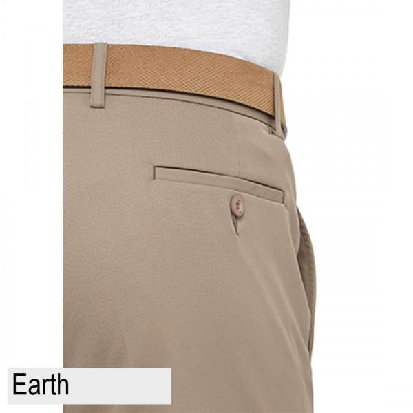 City Club Kingston Proair Trouser Beige Back Pocket