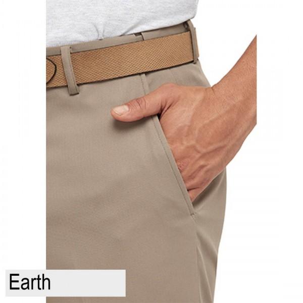 City Club Kingston Proair Trouser Beige Front Pocket