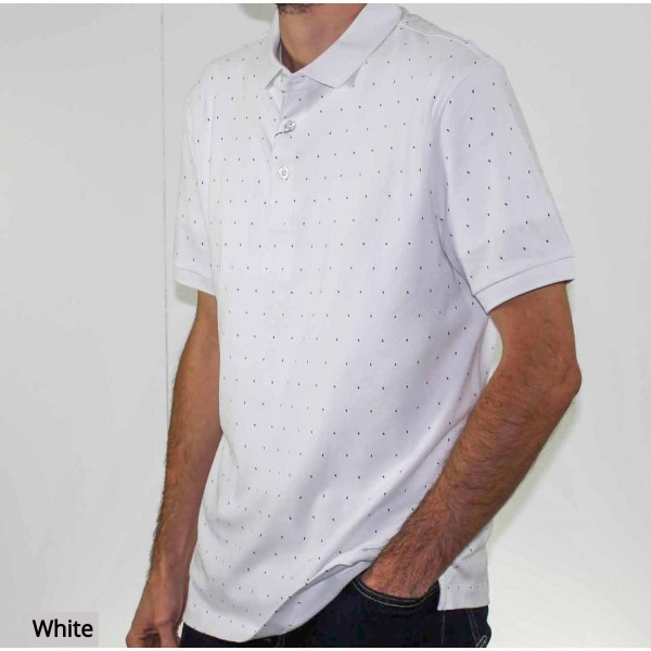Stafford Ellinson Short Sleeve Kirkham Polo Side