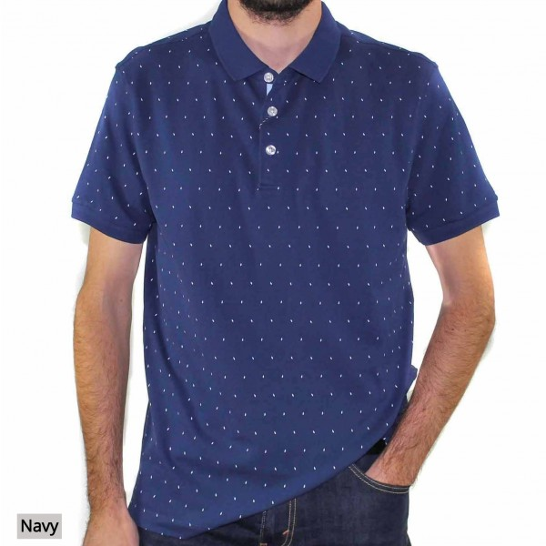 Stafford Ellinson Short Sleeve Kirkham Polo Front