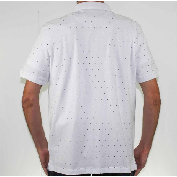 Stafford Ellinson Short Sleeve Kirkham Polo Back