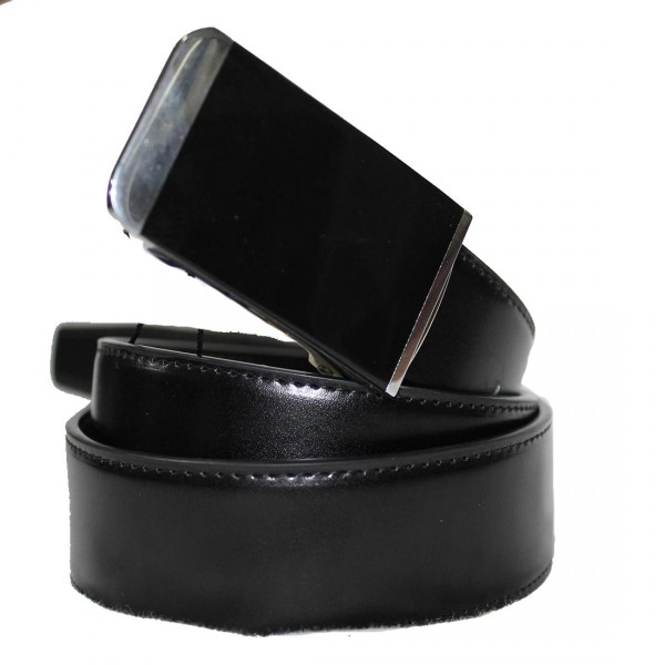 City Club Leather Lock belt
