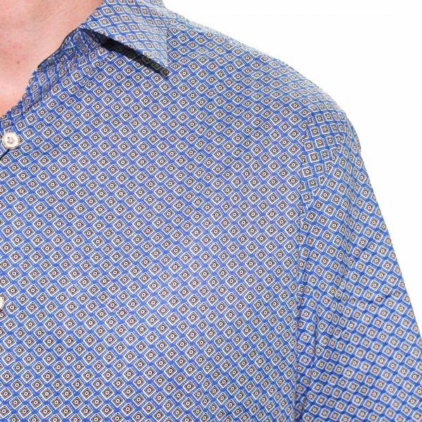 Cutler L/S BlueBird Dress Shirt Close