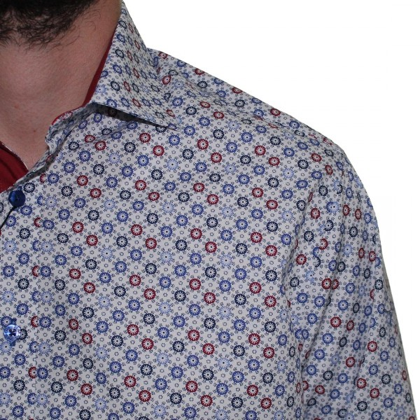 DI Nero Long Sleeve Printed Shirt
