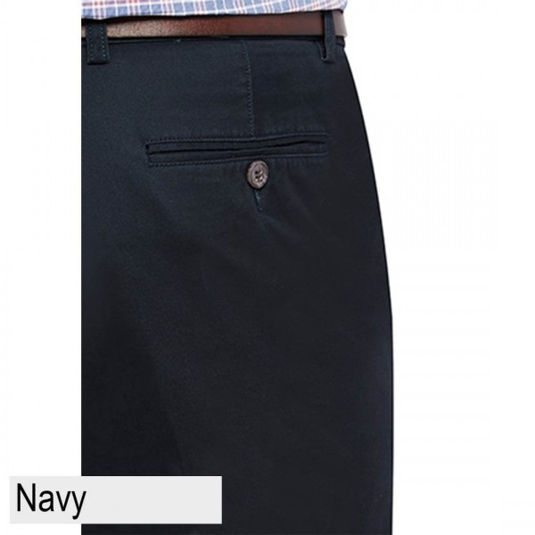City Club Mariner Harbour Pant  Navy Back Pocket