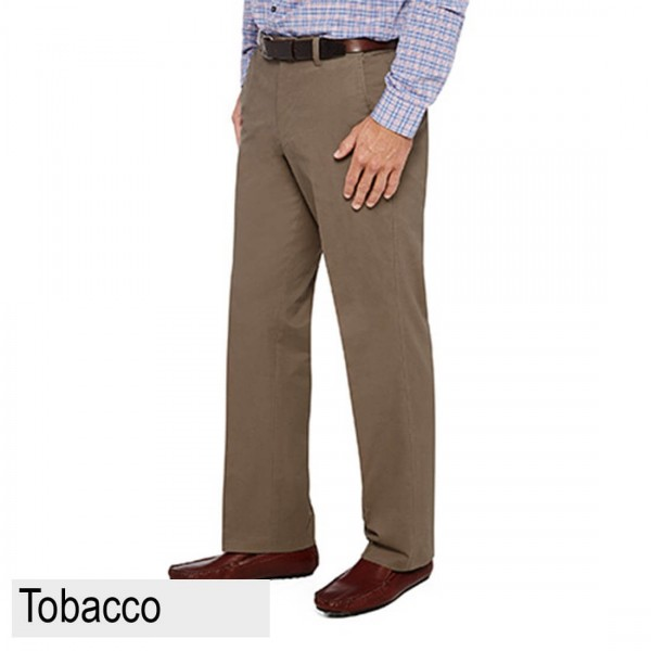City Club Mariner Harbour Pant Front Tobacco