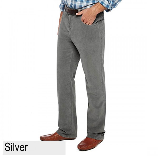 City Club Mist Hudson Trouser Silver
