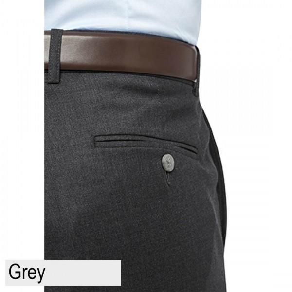 City Club Nash Wilson Pant Grey Back Pocket
