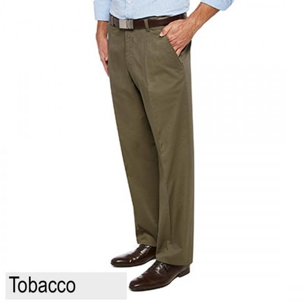 City Club Nerang Flex Pant Tobacco Front