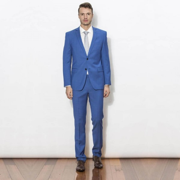 New England Code Blue Slim Suit