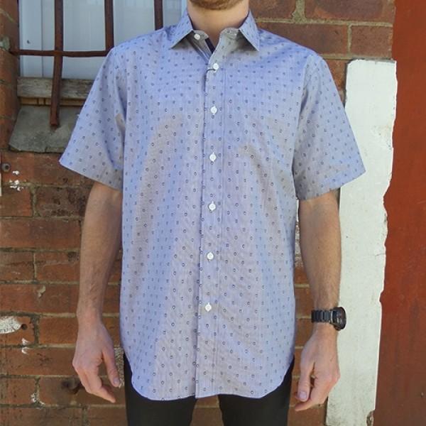 Nickel Short Sleeve Bug Print Shirt