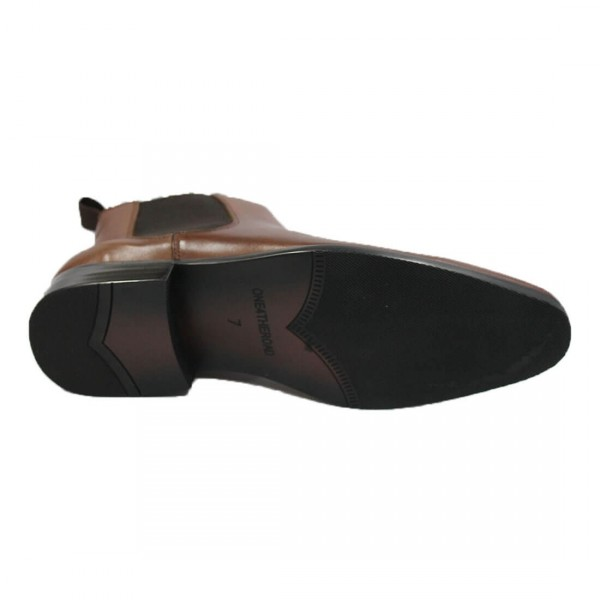 One 4 The Road Hurley Boot Tan Bottom