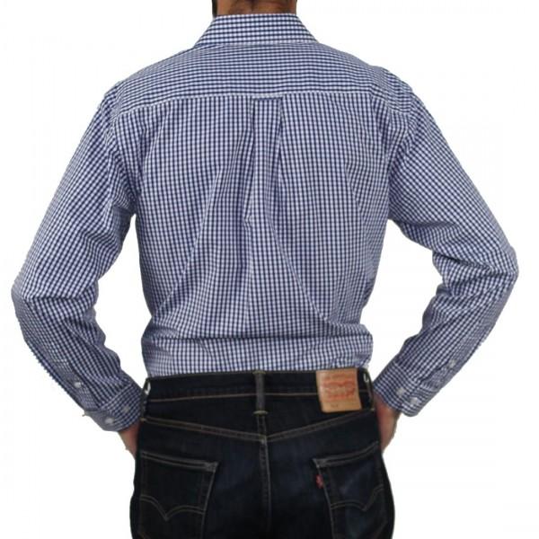 Gloster Original Long Sleeve Shirt Blue