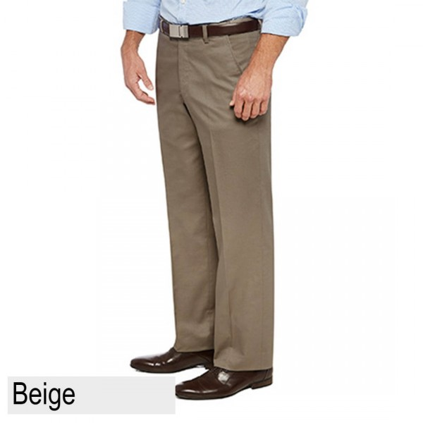 City Club Pacific Flex Pant Beige Front