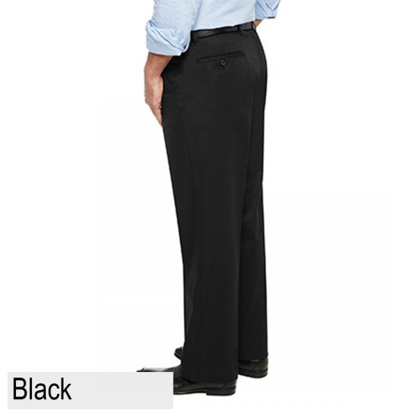 City Club Pacific Flex Pant Black Back