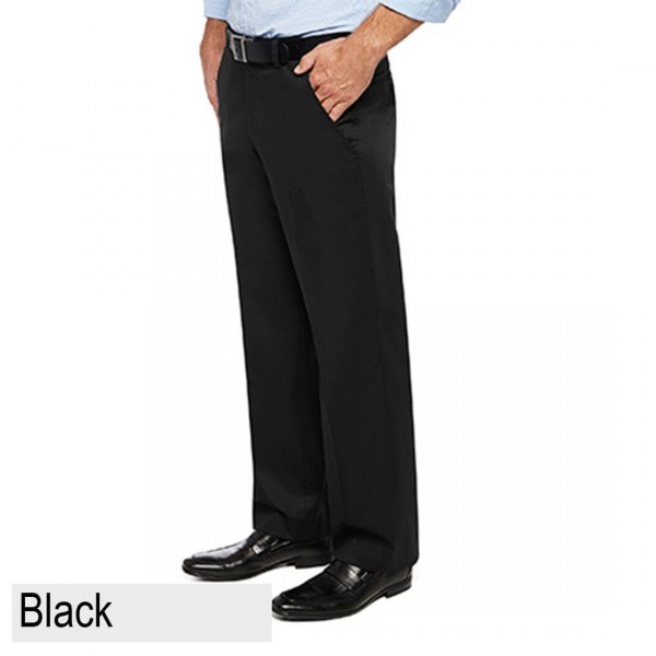 City Club Pacific Flex Pant Black Front