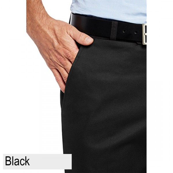 City Club Pacific Flex Pant Black Front Pocket
