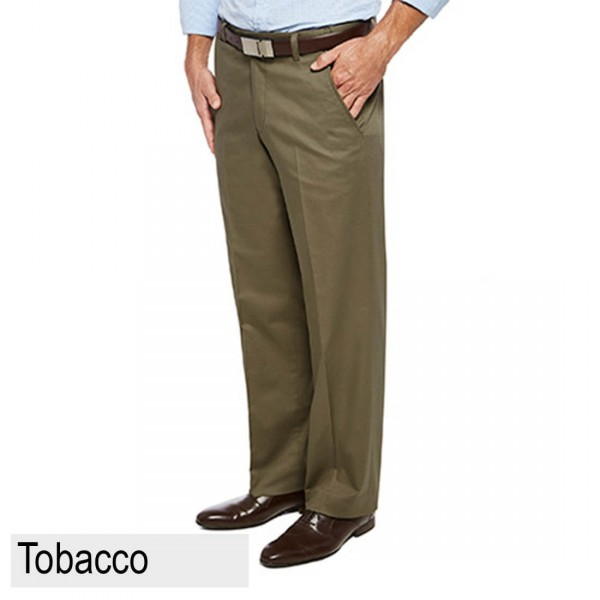 City Club Pacific Flex Pant Tobacco Front