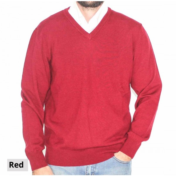 Bridge and Lord Merino Cashmere Pullover-Front