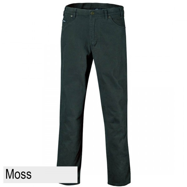 Ritemate Pilbara Men's Cotton Stretch Jean Moss