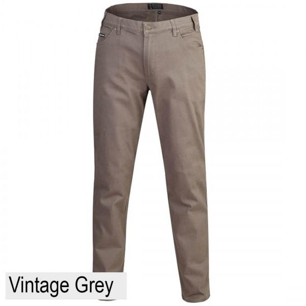Ritemate Pilbara Men's Cotton Stretch Jean Vintage Grey