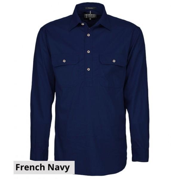 Ritemate Pilbara CLosed Front Shirt - Front