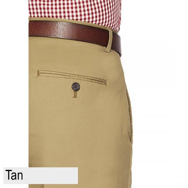 City Club Salt Harbour Pant Front  Back Pocket Tan