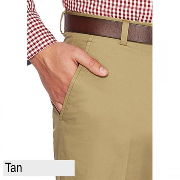 City Club Salt Harbour Pant Front Front Pocket Tan