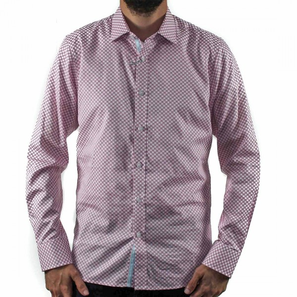 James Harper Long Sleeve Saxon Circle Shirt Front
