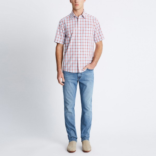 RM Williams Hervey Short Sleeve Shirt