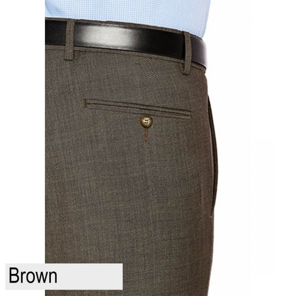 City Club Shima 1007 Brown Back Pocket