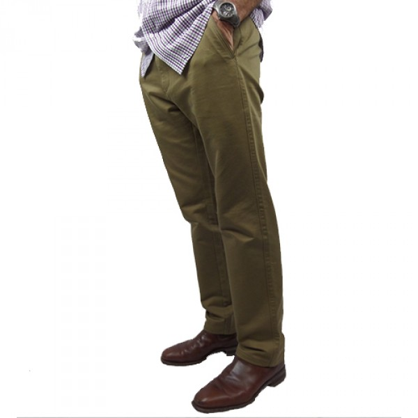 Nickel Side Pocket Slim Fit Pant In Beige