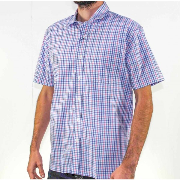 Back Bay Short Sleeve Soft Touch Shirt Side